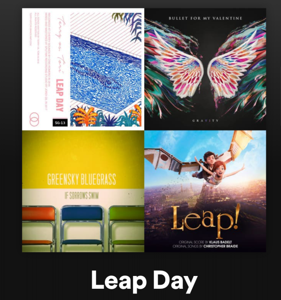 Leap Day Playlist