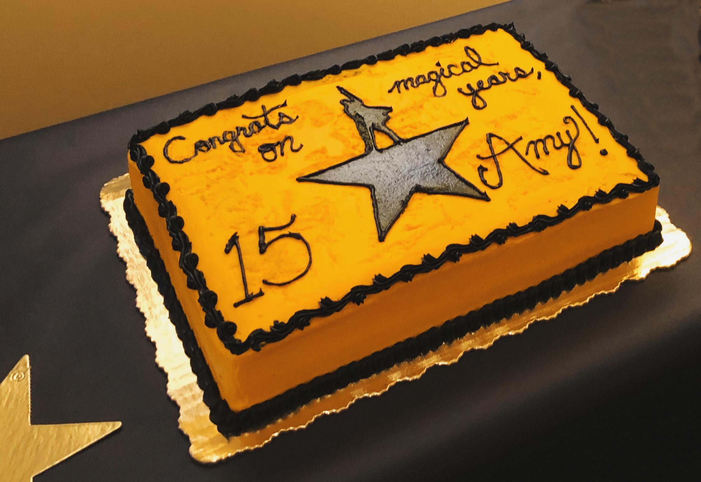 Hamilton Cake
