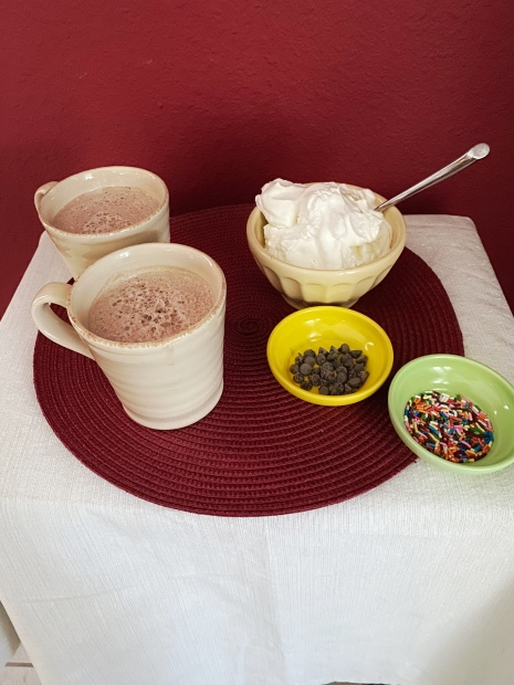 frozen cocoa bar