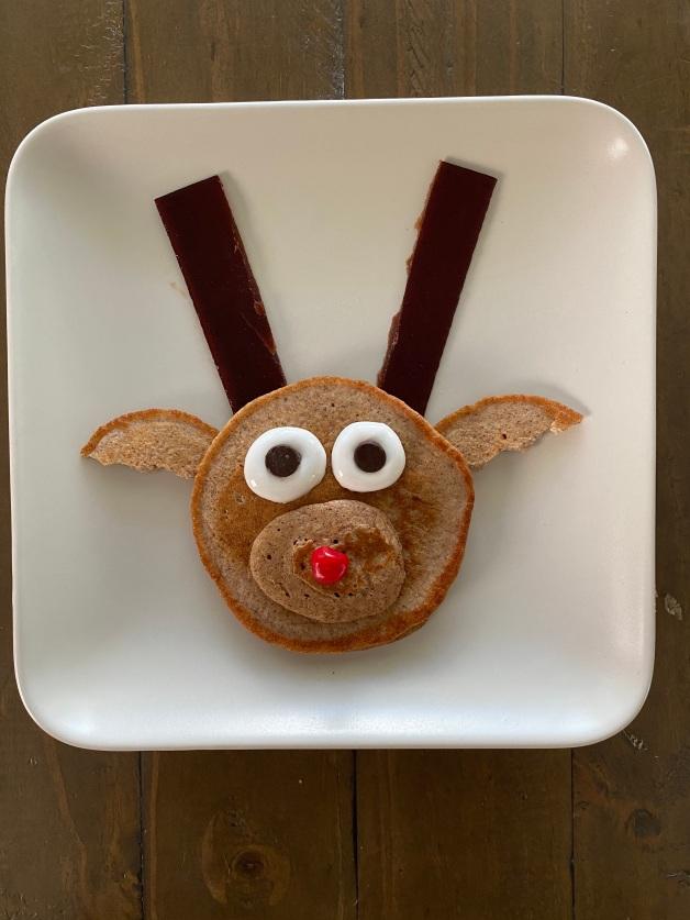 Reindeer pancake