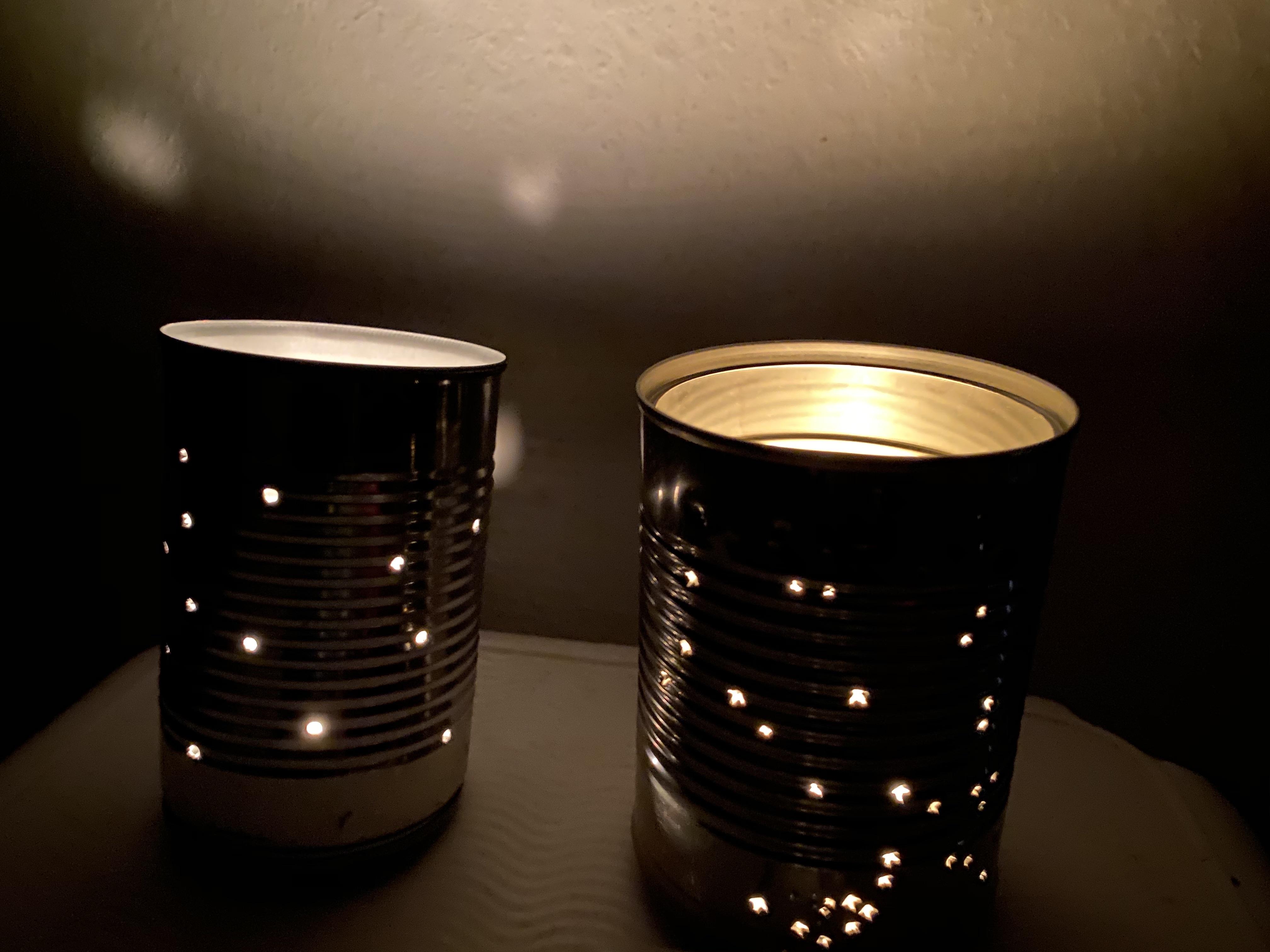 glowing lantern - front